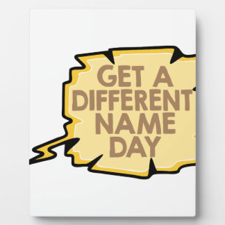 13th February - Get A Different Name Day Plaque