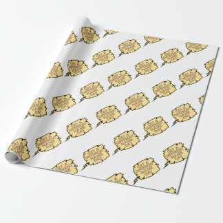 13th February - Get A Different Name Day Wrapping Paper