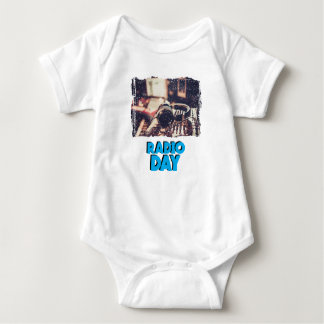 13th February - Radio Day - Appreciation Day Baby Bodysuit