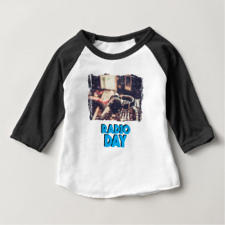 13th February - Radio Day - Appreciation Day Baby T-Shirt