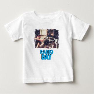 13th February - Radio Day - Appreciation Day Baby T-Shirt