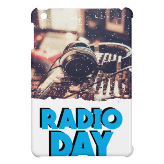 13th February - Radio Day - Appreciation Day Case For The iPad Mini