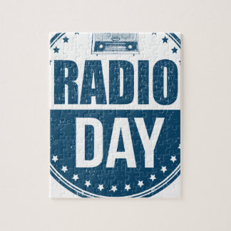 13th February - Radio Day - Appreciation Day Jigsaw Puzzle