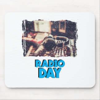 13th February - Radio Day - Appreciation Day Mouse Pad