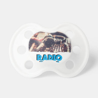 13th February - Radio Day - Appreciation Day Pacifier