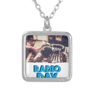 13th February - Radio Day - Appreciation Day Silver Plated Necklace