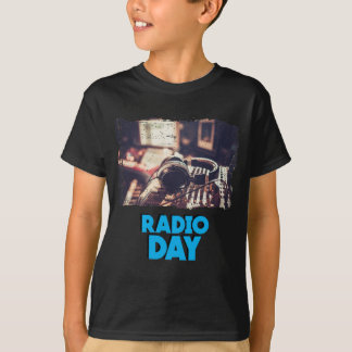 13th February - Radio Day - Appreciation Day T-Shirt