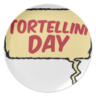 13th February - Tortellini Day - Appreciation Day Party Plate