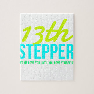 13th Step Sobriety Fellowship Recovery Jigsaw Puzzle