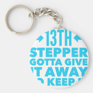 13th Step Sobriety Fellowship Recovery Keychain