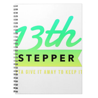 13th Step Sobriety Fellowship Recovery Notebook
