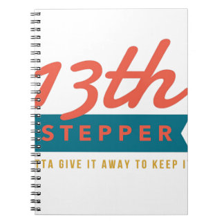 13th Step Sobriety Fellowship Recovery Notebooks