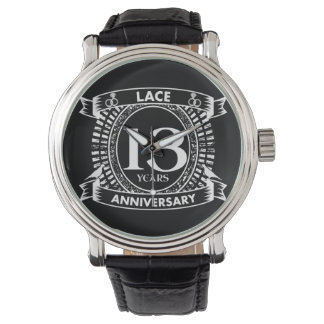 13TH wedding anniversary lace Watch