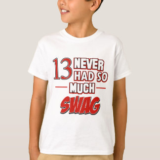 13th year old birthday designs T-Shirt