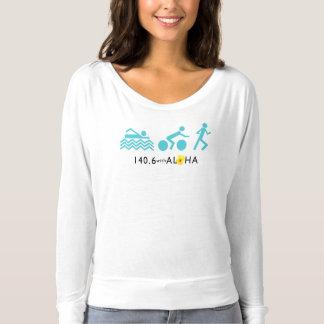 140.6 With Aloha Flowy Long Sleeve Tshirt