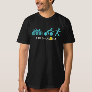 140.6 with Aloha Men's Organic Tshirt - Dark+Back