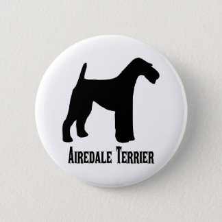 1415112006 Airedale Terrier (Animales) 2 Inch Round Button
