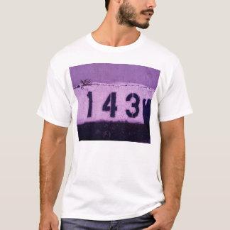 143 = I love You T-Shirt