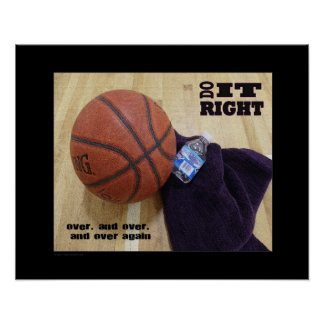 #143 (Matte) Basketball Poster