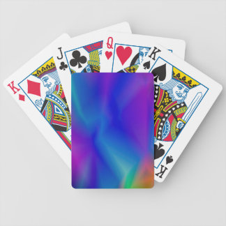 143Gradient Pattern_rasterized Bicycle Playing Cards