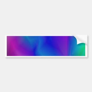 143Gradient Pattern_rasterized Bumper Sticker