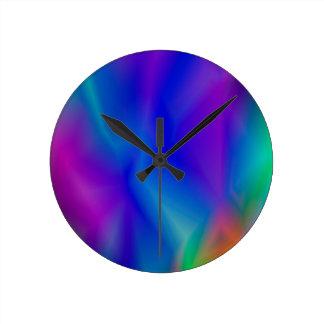 143Gradient Pattern_rasterized Round Clock