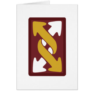 143rd Expeditionary Sustainment Command Greeting Card