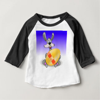 144Grey Rabbit_rasterized Baby T-Shirt