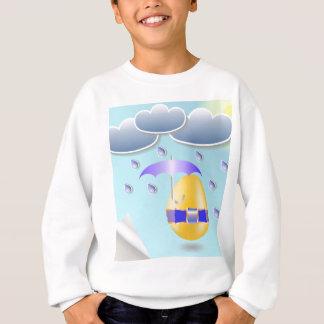 146Easter Egg_rasterized Sweatshirt
