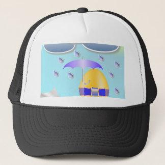 146Easter Egg_rasterized Trucker Hat
