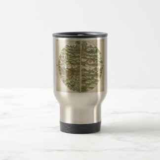 1475 Oldest Known Woodcut World Map 15 Oz Stainless Steel Travel Mug