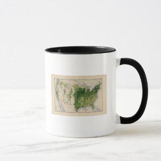 147 Neat cattle/sq mile Mug