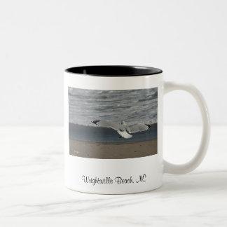 148_4817, Wrightsville Beach, NC, Photo by Pam ... Two-Tone Coffee Mug