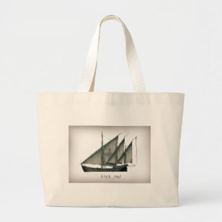1492 Nina by Tony Fernandes Large Tote Bag