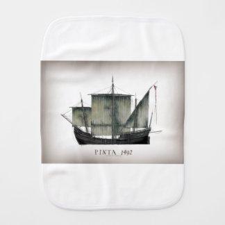 1492 Pinta tony fernandes Burp Cloth