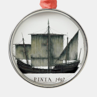1492 Pinta tony fernandes Metal Ornament