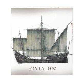 1492 Pinta tony fernandes Notepad