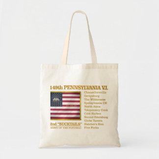149th Pennsylvania VI (BH) Tote Bag