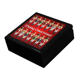14 Colorful Xmas Nutcracker Toy Soldiers Gift Box
