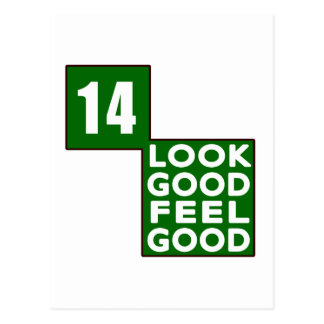 14 Look Good Feel Good Postcard
