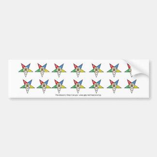 14 OES Cutups Bumper Sticker
