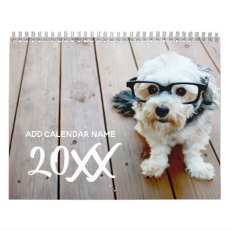 14 Photo - Full Page Coverage Photos Wall Calendars