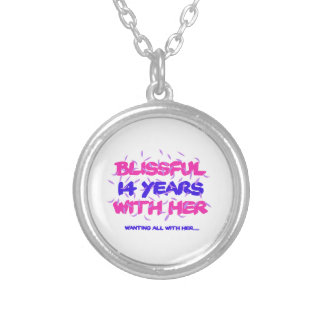 14 SILVER PLATED NECKLACE