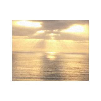 "14"" x 11"", 1.5"" Dana Point Sunset Canvas Print"
