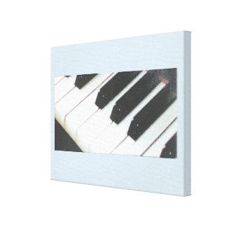 14 x 11 1.5 inch Piano canvas. Canvas Print