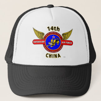 "14TH ARMY AIR FORCE ""ARMY AIR CORPS"" WW II TRUCKER HAT"