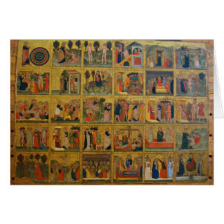 14th Century Biblical Stories - Verona, Italy Card