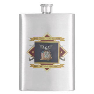 14th Connecticut Volunteer Infantry Hip Flask