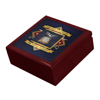 14th Connecticut Volunteer Infantry Jewelry Box