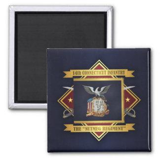 14th Connecticut Volunteer Infantry Magnet